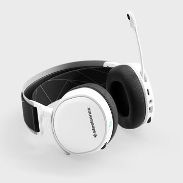 SteelSeries Arctis 7無線耳麥-白