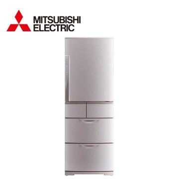 【福利品】展-MITSUBISHI 525公升瞬冷凍五門變頻冰箱