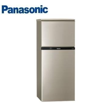 (福利品)Panasonic 130公升雙門變頻冰箱