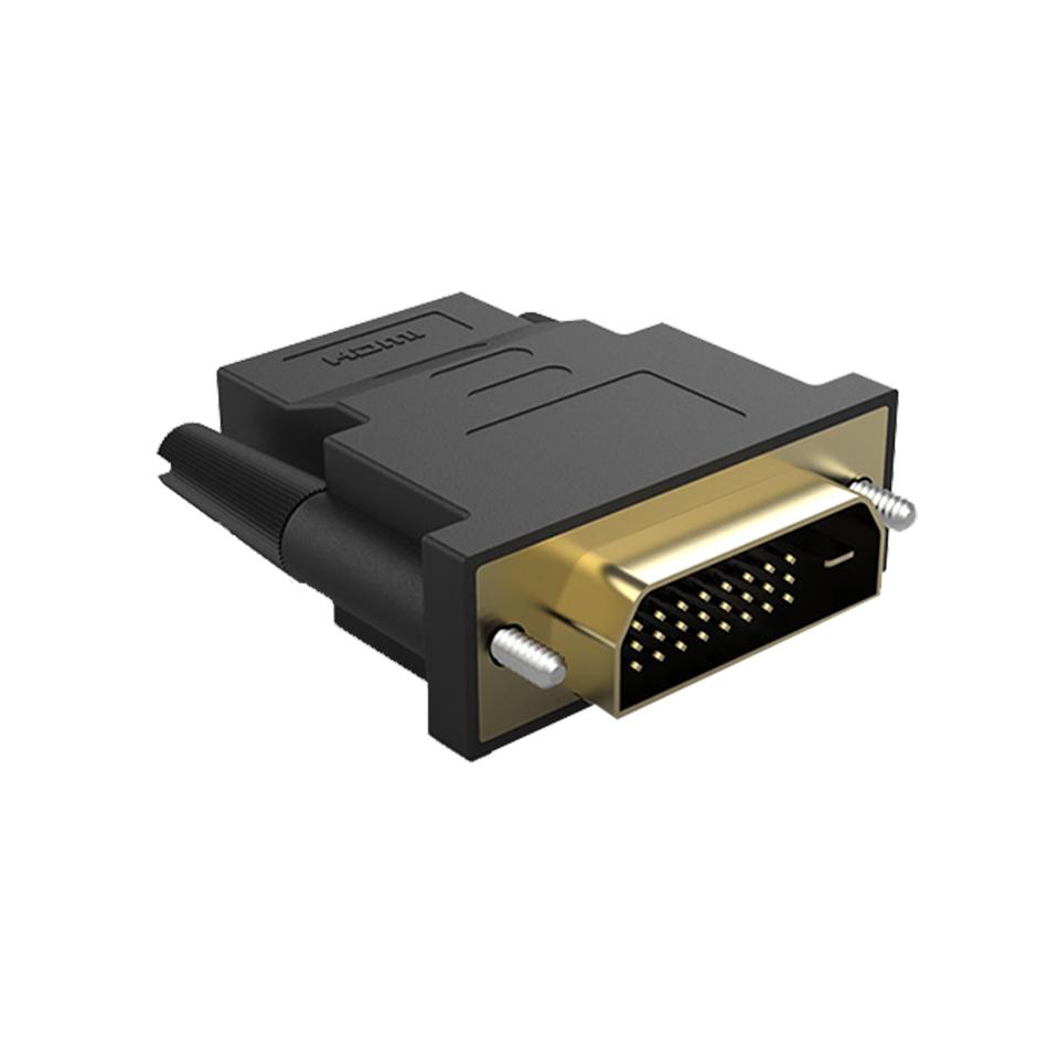 DIKE DVI公轉HDMI母轉接器
