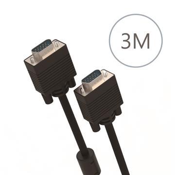 DIKE VGA公對公訊號連接線-3米(DLP202BK)
