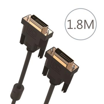 DIKE DVI公對公訊號連接線-1.8米(DLP301BK)
