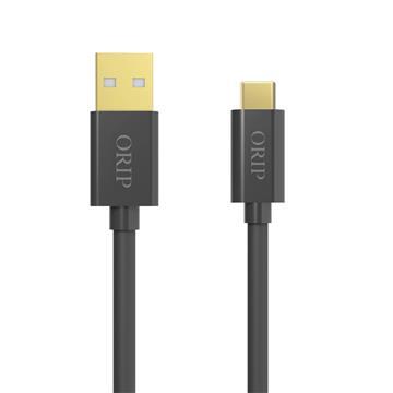 ORIP Type-C USB傳輸充電線灰-1.5M OCC-A02015