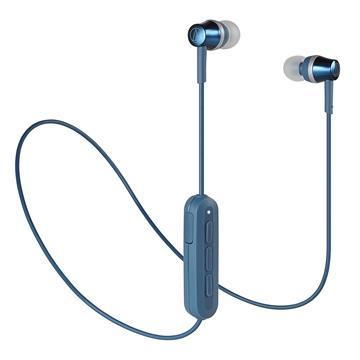 (福利品)鐵三角Audio-Technica 耳塞式藍牙耳機-藍 ATH-CKR300BT-BL