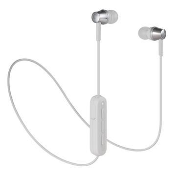 (福利品)鐵三角Audio-Technica 耳塞式藍牙耳機-灰