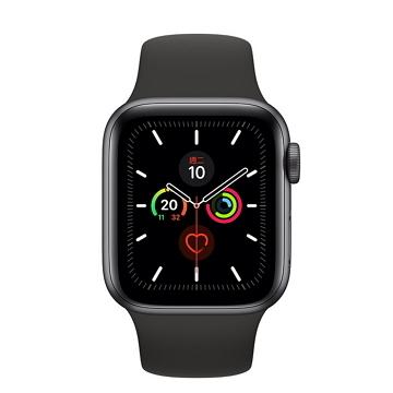 Apple Watch S5 LTE 44/灰鋁/黑運動錶帶