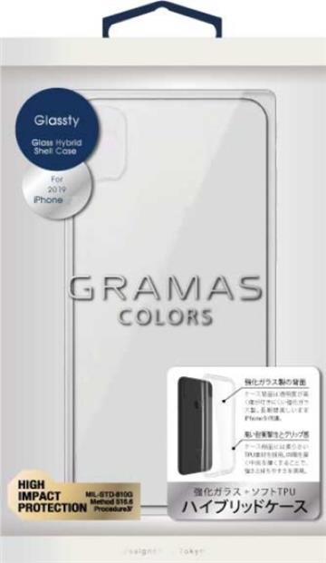Gramas iPhone 11 Pro 防摔漾玻手機殼-透明