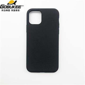 Gobukee iPhone 11 Pro Max極纖矽膠保護套-黑