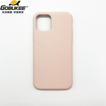 Gobukee iPhone 11 Pro Max極纖矽膠保護套-粉
