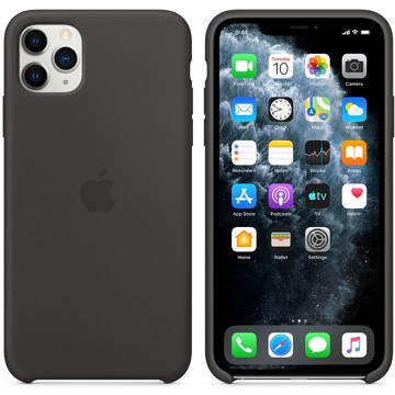 Apple iPhone 11 Pro 矽膠保護殼 黑色