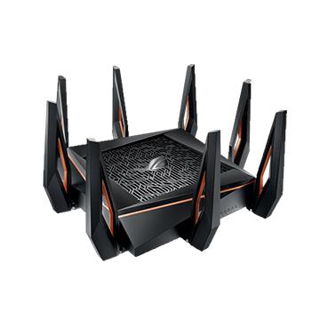 ASUS華碩 ROG Rapture 三頻 WiFi 6 電競無線路由器