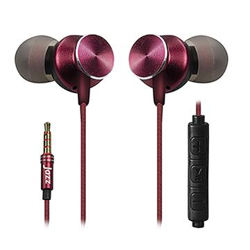 INTOPIC 磁吸偏斜式耳機麥克風-酒紅
