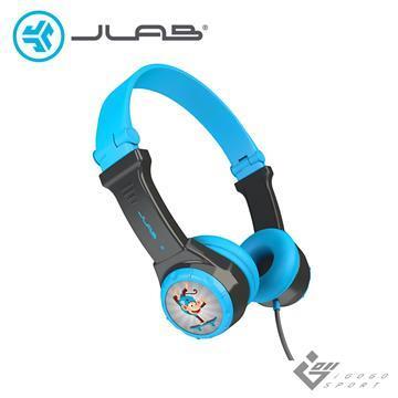 JLab JBuddies Folding 兒童耳機-藍色