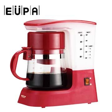 展-EUPA 美式5人份咖啡機(紅)