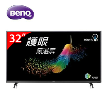 BenQ 32型 HD低藍光不閃屏顯示器(含電視視訊盒)  C32-300