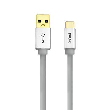 大通 Type-C USB3.1 快速充電線1M-灰