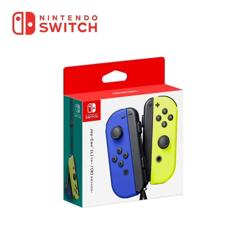 Switch Joy-Con 左右手套裝-電光黃/藍