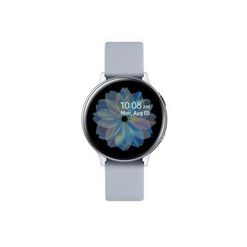 三星SAMSUNG Galaxy Watch Active2 鋁製/44mm SM-R820NZSABRI冰川銀