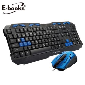 E-books Z1金鋼狼電競遊戲USB鍵鼠組 E-PCG133