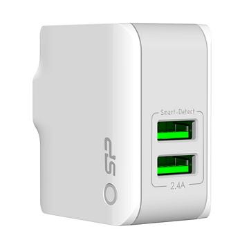 廣穎 2.4A 雙埠USB充電器