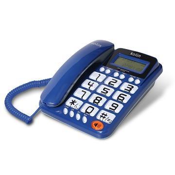 歌林kolin 大字鍵有線電話