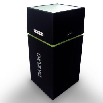DAZUKI 10400mAh戶外LED手電筒行動電源-黑