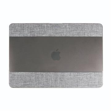 PROXA MacBook Pro 13吋布面透明保護殼-灰