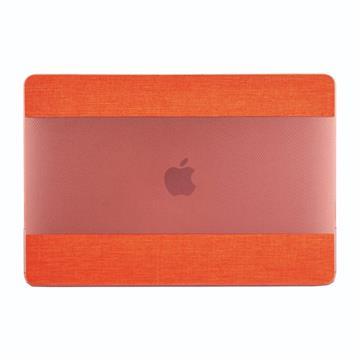 PROXA MacBook Pro 13吋布面透明保護殼-橘