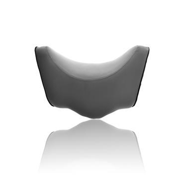【OMyCar】記憶棉頭頸枕-灰色 含收納背袋 AA130080