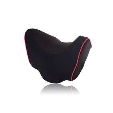 【OMyCar】記憶棉頭頸枕-黑色 含收納背袋