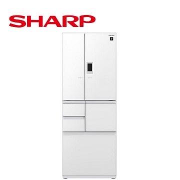 【福利品】展-SHARP 502公升對開六門變頻冰箱