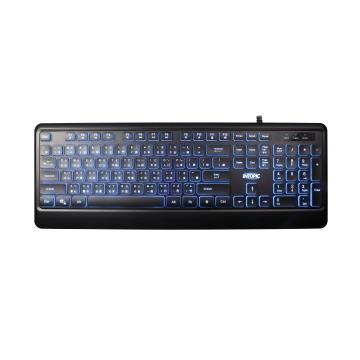 INTOPIC USB多媒體發光巧克力鍵盤 KBD-78L