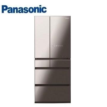(福利品)Panasonic 650公升六門變頻玻璃冰箱 NR-F655WX-X1(鑽石黑)