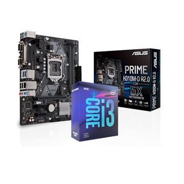 Intel i3-9100F/PRIME H310M-D R2.0/CSM