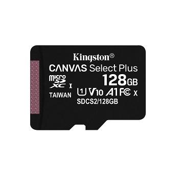 Kingston金士頓 MicroSDCS2 C10 UHS-I 128GB記憶卡 SDCS2/128GB