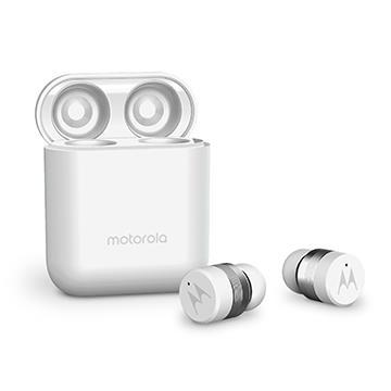 Motorola 輕便型真無線藍牙耳機 白