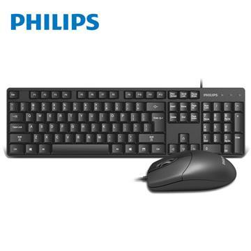 PHILIPS SPT6254有線鍵鼠組