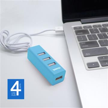 TRUSDER USB2.0 4PORT USB HUB(蒂芬妮藍)