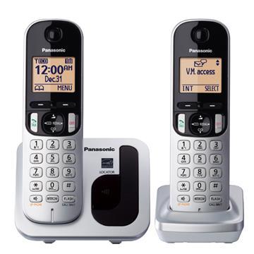 (福利品)國際牌Panasonic 免持對講雙機無線電話
