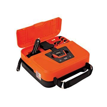 【安伯特】提箱式打氣機照明/胎壓/打氣 AE010013