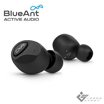 BlueAnt Pump Air 2 真無線運動耳機 經典黑