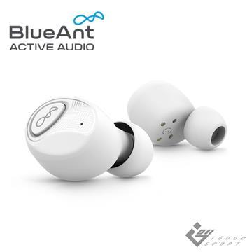 BlueAnt Pump Air 2 真無線運動耳機 珍珠白