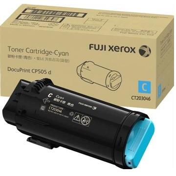 富士全錄Fuji Xerox CP505 d藍色高容量碳粉匣(11K)