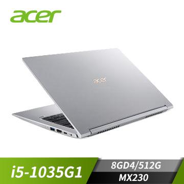 (福利品)ACER宏碁 Swift 3 筆記型電腦(i5-1035G1/MX250/8GD4/512G)