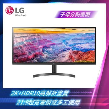LG樂金 34型AH-IPS液晶顯示器