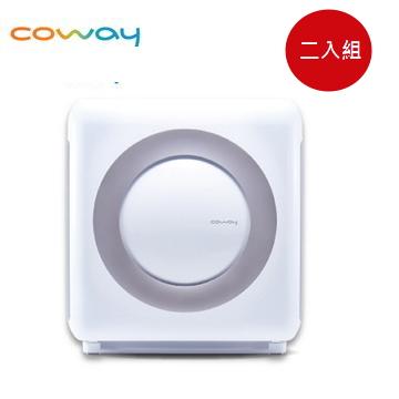 (2入組) Coway 18坪旗艦環禦型空氣清淨機