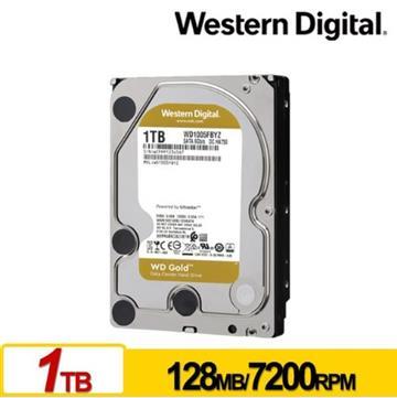 WD 3.5吋 1TB SATA企業級硬碟(金標)
