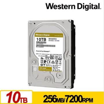 WD威騰 3.5吋 10TB SATA企業級硬碟 金標