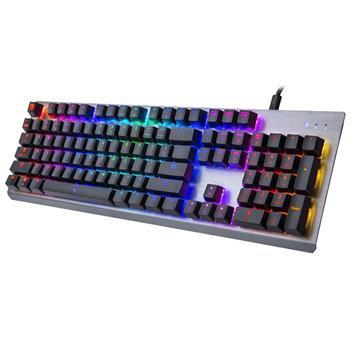 曜越 海王星RGB幻彩機械鍵盤(青軸)(EKB-MER-TBSRTC-01)