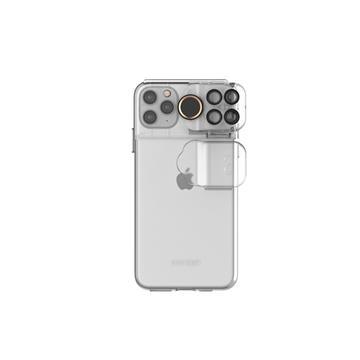 ShiftCam iPhone 11 Pro Max旅行攝影組手機殼-透明